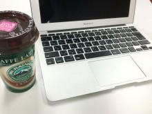 コーヒーをこぼして起動しないMacbookAir
